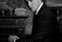 the winchester  in suit / sexy men
