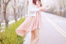 Korean fashion beautiful