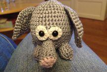 crochet creations / Gehaakte creaties by me