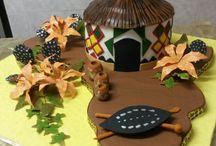 Africa wedding cakes