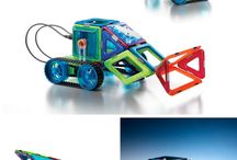 GeoSmart Gift Ideas / New products from GeoSmart, STEM-focused magnetic construction for ages 5+.