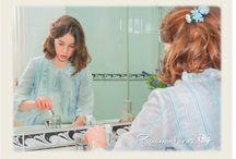 Camisones y pijamas para niñas / Camisones, pijamas, niñas, niños y mujeres