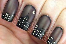city nail art
