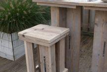 steigerhout / alles gemaakt van steigerhout