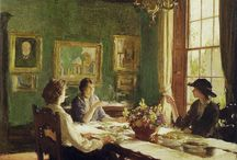 Elwell, Frederick William (1870-1958, British painter)
