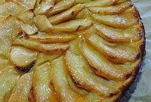 tarta manzana sin azúcar
