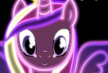 My little pony neon