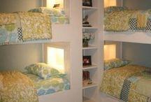 Bedrooms / by Kellie Yeates