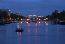 Amsterdam / Amsterdam - hlavní město Nizozemska. Rudé uličky, cofee shopy