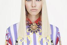 Versace Resort 2015 / Sasha Luss for Versace Resort 2015