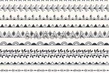 vzory kresba typy