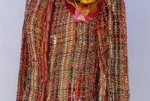 Sacos en telar / Arte Portante. Wearable Art.