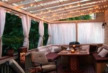 Deck, Patio, Backyard