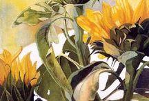 Słoneczniki / malarstwo