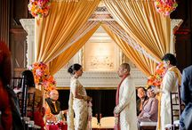 Golden Inspirations: Indian Weddings Magazine Blog Post / http://www.csabride.com/golden-inspirations/  Venue: The Julia Morgan Ball Room Photographer: Jihan Cerda Photography Hair & Makeup: Chhaya Govind DJ: DJ Von Woo Planners/Decorators/Florists/Linens: Anais Event Planning and Design Staffing/Rental Company: Z Staff & Party Rental Co. Lighting: Riamu Entertainment Caterer: Tandoori Nites Henna: Hiral Henna / by Indian Weddings & California Bride