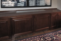 """Radiator Covers / Create an attractive, finished and usable space by covering an unsightly radiator with a custom cover from transFORM. We offer """"made to fit"""" radiator covers in traditional or contemporary styles in many finishes to compliment your home. / by transFORM"""