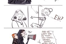 funny stuff kylo ren and rey