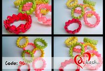 Jewelery   Bangles, Quilling Earrings, Rings / Select what you want and Be pretty with beautiful Products.