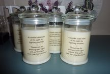 Custom Creations / These are Custom Candles that I have custom made for my customers.