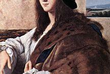 Rafael Santi obrazy i polichromie.