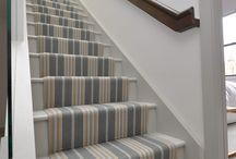 Off The Loom Stair Runner | Lintzford 1 (bespoke 65cm width)