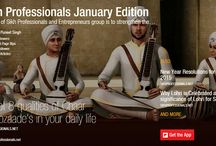 Sikh Professionals Magazines / With all your Support and Appreciation, Sikh Professionals have started its Monthly Digital Magazine from January 2015.
