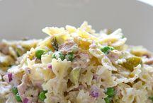 Pasta salade met tonijn / Pasta salad