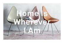 Home Is Wherever I Am / Interiors