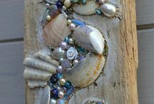 artesanato com conchas