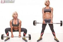 Jamie Easton work out