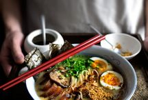 Food photography noodle