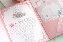 Wedding cards & save the date