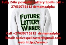 Lottery spell caster master WhatsApp/call +27630716312 drmamaalphah southafrica