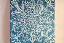 mandala/henna