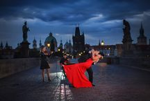 destination weddings Prague / a fabulous couple from Hong Kong who married at the famous Castle Hluboka and had a stunning Prague portrait session