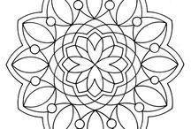 Mandala / Zen / Coloriage