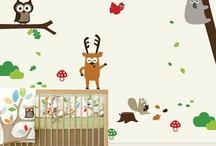 Baby room murals