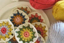 Granny squares / by Connie Comstock