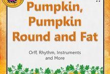 October Music Activities