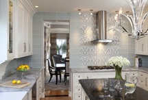 Kitchens / A beautiful kitchen is just a gorgeous aspect of any home. Here are some of my favorite kitchen designs which I think breathe a whole new life and ambience into their houses! / by Rebecca Robeson