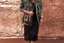 Colorimétrie chaude : idées de tenues / Ensembles et idées d'associations pour femmes avec une colorimétrie chaude