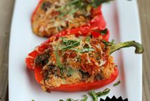 Stuffed Peppers / Yes, I had to make a whole board just for stuffed peppers :-)