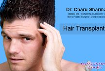 Hair Transplant Surgery / The Best leading Hair Transplant and Hair restoration Surgery Clinic By DR. Charu Sharma