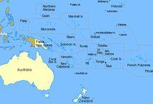 Australia & Oceania / by Quinn Bradley