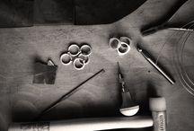 Minimalist jewellery in the making / A sneak peek into what happens on my jewellery bench