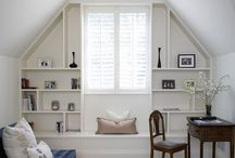 Ideas for sloped walls