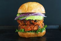 Veggie Burgers and Sandwiches / #vegetarian and #vegan portable food