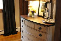 Refinished furniture / by Lee-ann Oleski