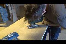 """Portal, Proces of creation / Stolarstwo Artystyczne, Igor Polasiak www.drewnoikamien.pl Film przedstawia proces wykonania drewnianego, rzeźbionego """"portalu"""" do kuchni.  Fine woodworking , this film present creation proces of wooden carved portal for the kitchen"""