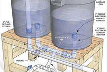 esővízgyűjtés, esővíz hasznosítás, stb.